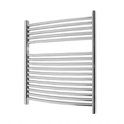 Abacus Elegance Radius Curved Towel Rail - 750mm x 600mm - Chrome